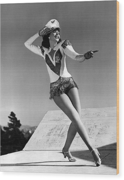 Reveille With Beverly, Ann Miller, 1943 Wood Print by Everett