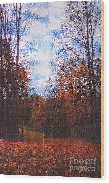 Richard's Wood Print