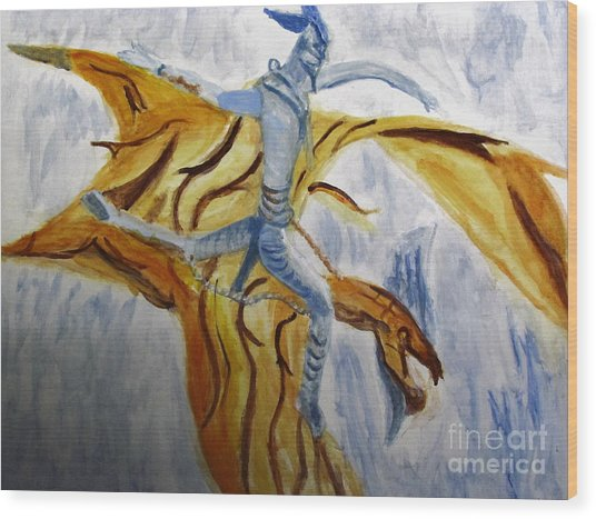 Ride Toruk The Dragon From Avatar Wood Print