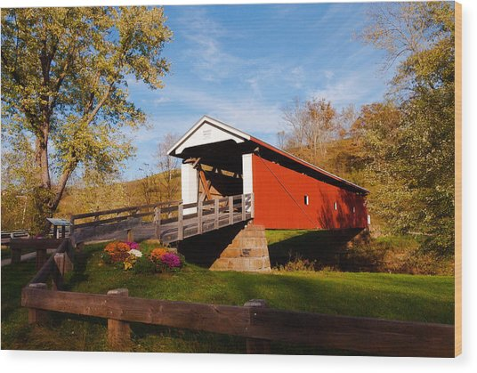 Rinard Coverd Bridge Iii Photograph By Jeanne Sheridan