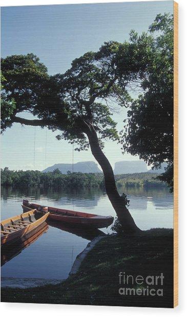 Rio Carrao Canaima Venezuela Wood Print