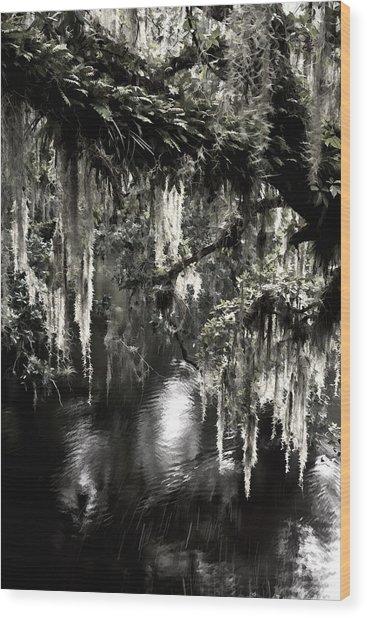 River Branch Wood Print