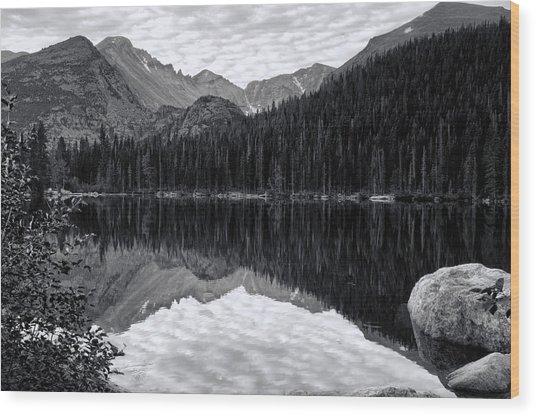 Rmnp Lake Wood Print