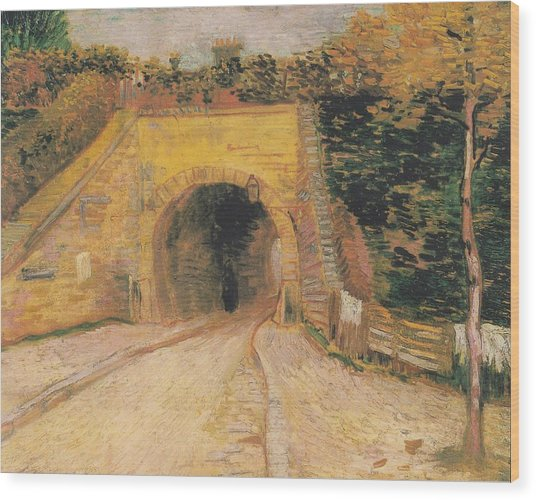 Roadway With Underpass The Viaduct Digital Art By Vincent