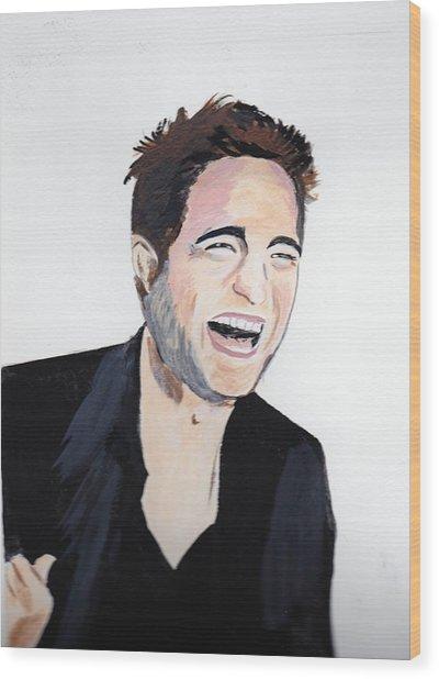 Robert Pattinson 4 Wood Print