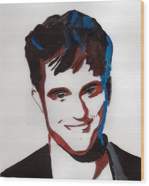 Robert Pattinson 7 Wood Print