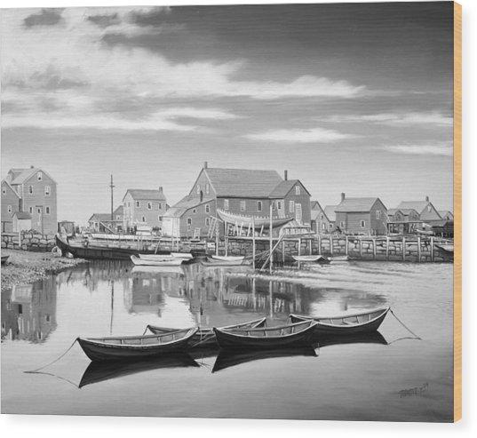 Rockport Wood Print