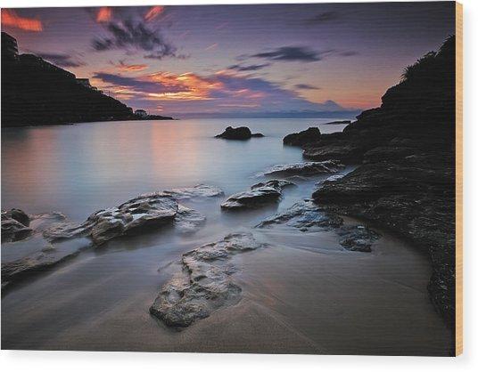 Rocks Of Gordon Wood Print