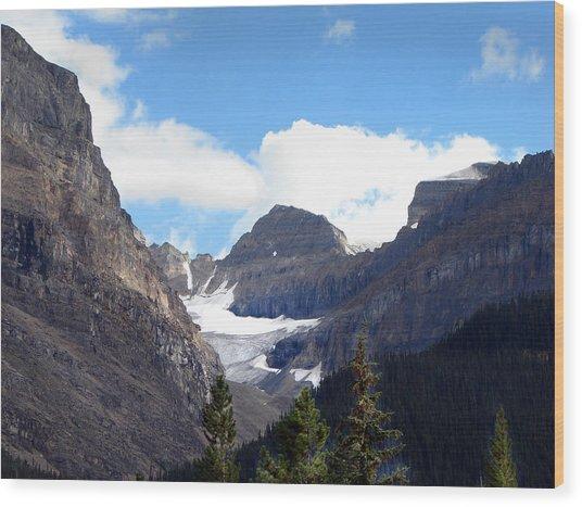 Rocky Mountain Pass Wood Print