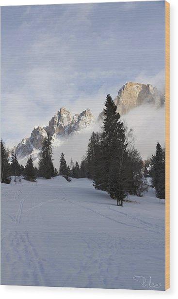 Roda Di Vael 2 Wood Print by Raffaella Lunelli