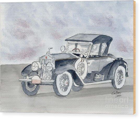 Rolls Royce 1923 Wood Print