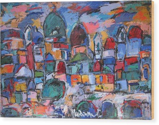Roma 40 Wood Print