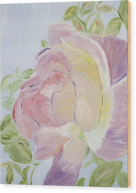 Rose Wood Print by Leona Bushman