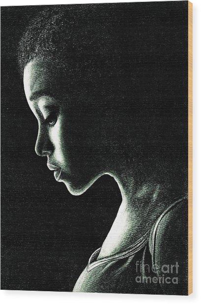 Rue Wood Print
