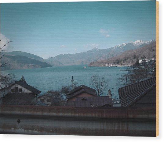 Rural Japan Wood Print