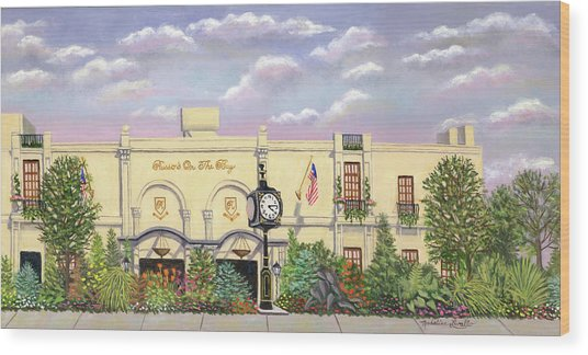 Russo's On The Bay Wood Print
