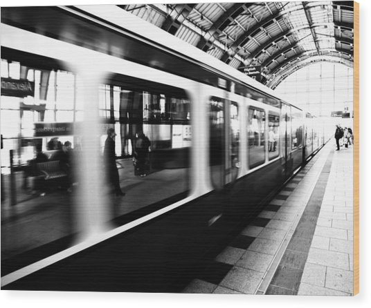 S-bahn Berlin Wood Print