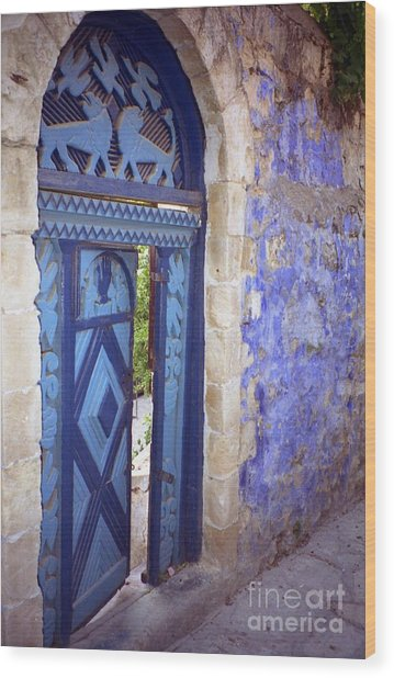 Safed Door Wood Print