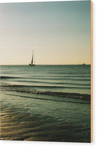 Sail Away Wood Print