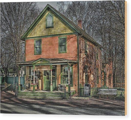 Saint James General Store Wood Print