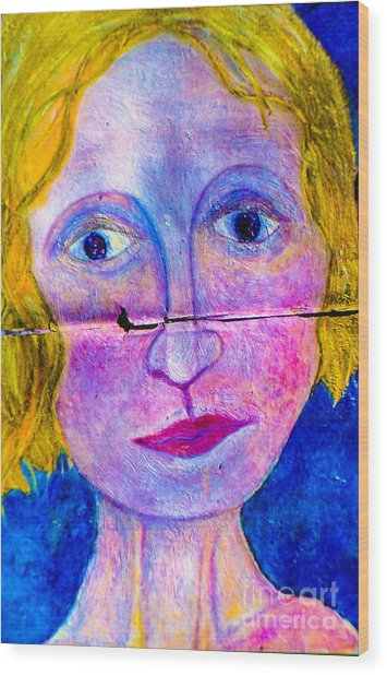 Sally Wood Print by Bill Davis
