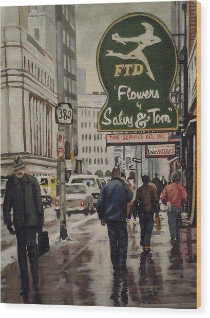 Salvy And Tom Wood Print