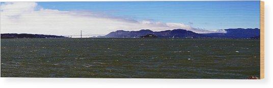 San Francisco Bay Panorama Wood Print