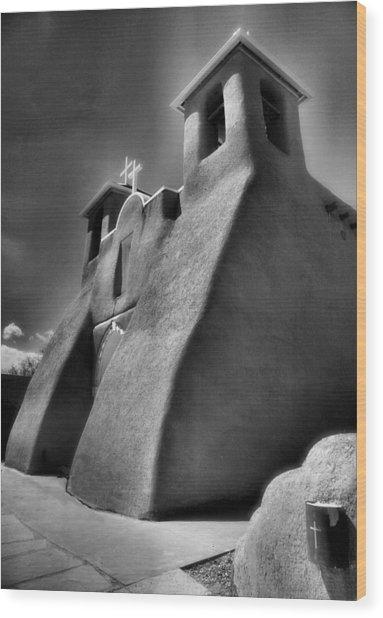San Francisco De Asis Church II Wood Print by Steven Ainsworth