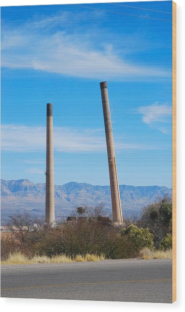 San Manuel 3 Wood Print by T C Brown