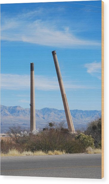 San Manuel 9 Wood Print by T C Brown