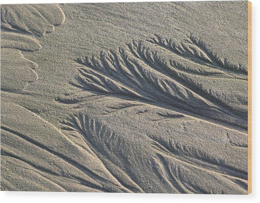 Sand Formations Wood Print