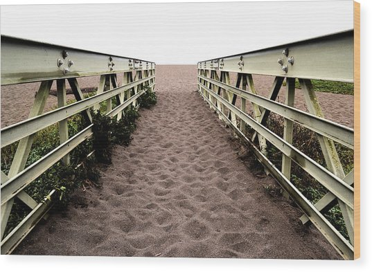 Sandy Bridge - Color Wood Print