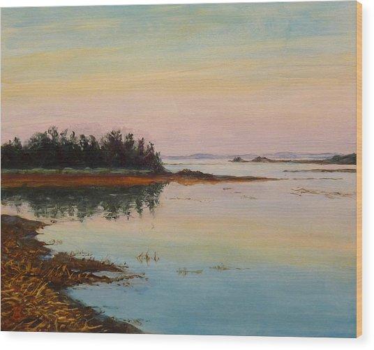 Sandy Hook Wood Print