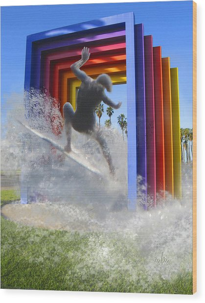 Santa Barbara Dream 1 Wood Print