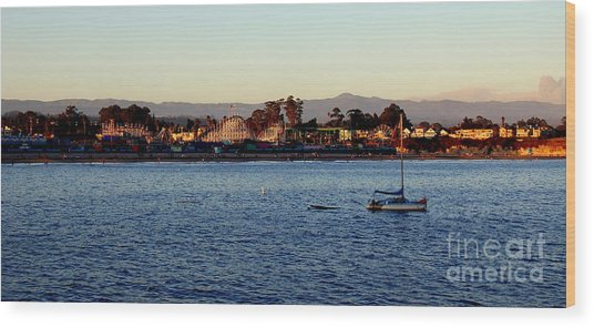 Santa Cruz Boardwalk  Wood Print