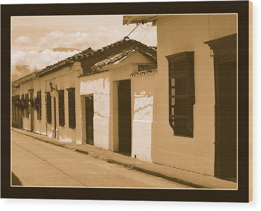 Santa Fe No Iv Wood Print