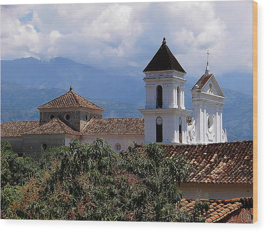 Santafe De Antioquia Wood Print by Blair Wainman