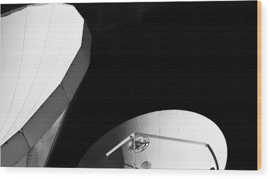 Satellites  Wood Print
