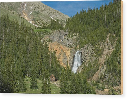 Scenic Colorado - 4786 Wood Print