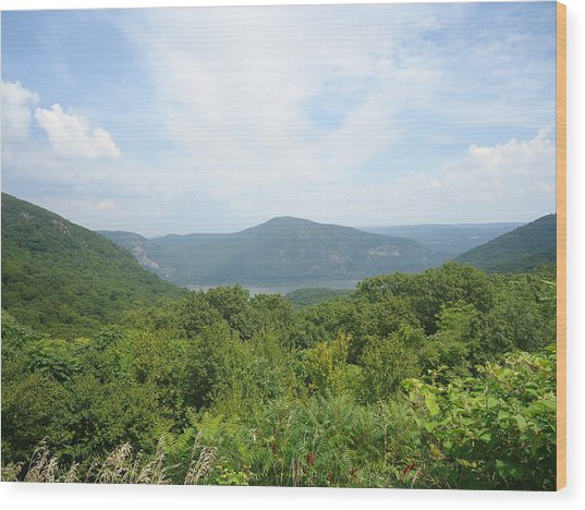 Scenic Overview Wood Print