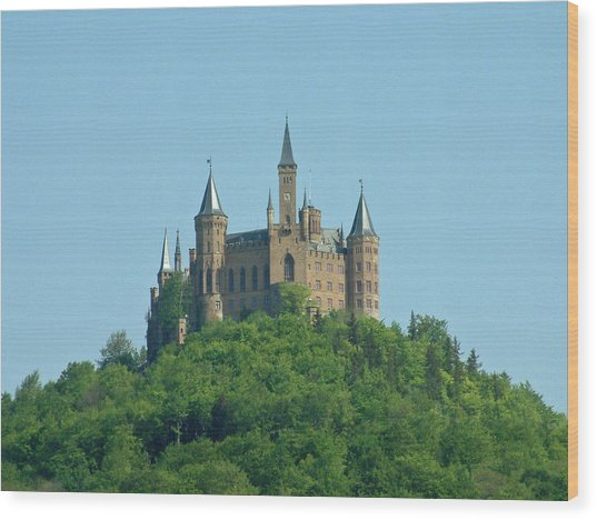 Schloss Hohenzollern Germany Wood Print