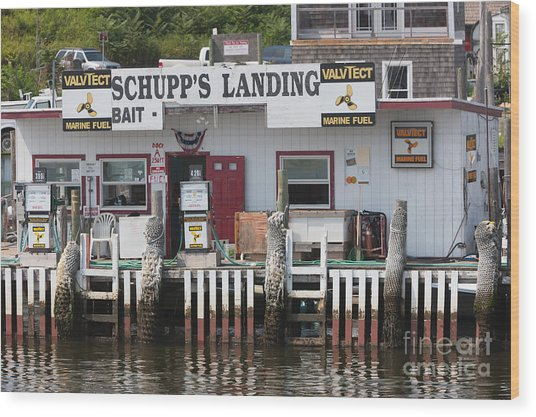 Schupp's Landing I Wood Print
