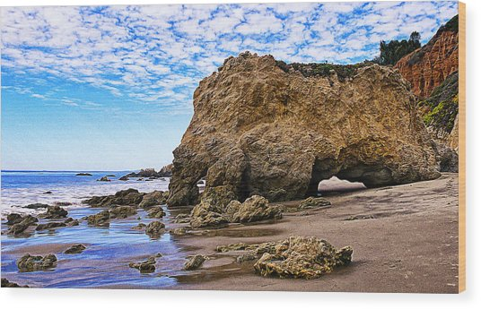 Sea Sphinx Wood Print by Ron Regalado