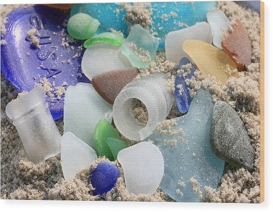 Seaglass Study IIi Wood Print
