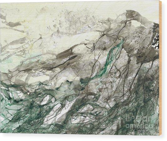 Seascape 04 Wood Print by David W Coffin