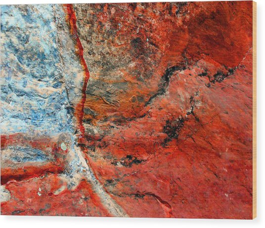 Sedona Red Rock Zen 1 Wood Print
