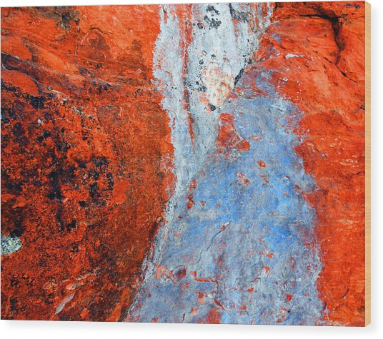Sedona Red Rock Zen 70 Wood Print