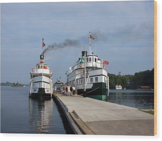 Seguin And Winona At Gravenhurst Wood Print