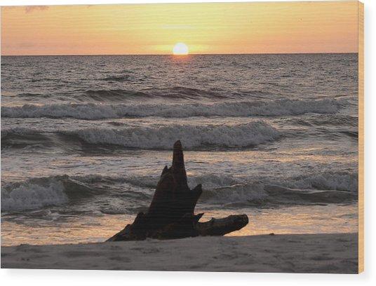 Serendipity Sunset Wood Print