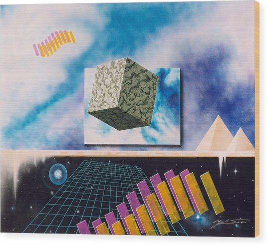 Seven Dimensions Wood Print
